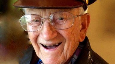 World War II veteran Henry Skubik of Massapequa