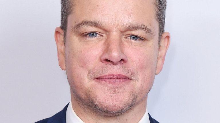 Matt Damon attends the screening of