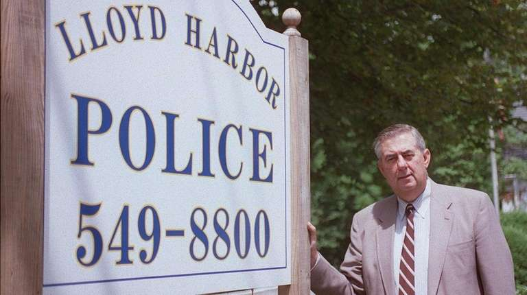Bernard Welsh served as Lloyd Harbor police commissioner