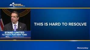 Gov. Andrew M. Cuomo detailed some of his