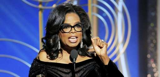 Oprah Winfrey accepts the 2018 Cecil B. DeMille