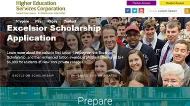The Excelsior Scholarship program, a supplemental financial aid
