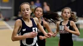 Oceanside's Andria Scaglione takes the girls 3000-meter run