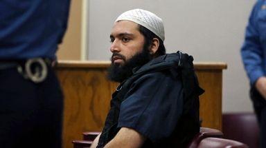 Ahmad Khan Rahimi in court in Elizabeth, N.J.,