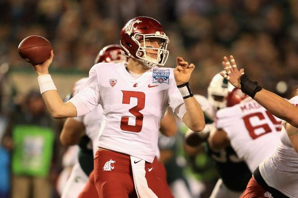 Tyler Hilinski, a quarterback at Washington State, was