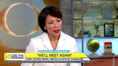 Ann Curry gives a lengthy interview on