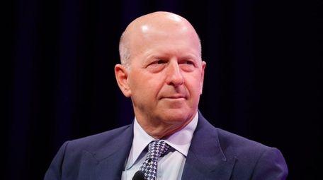 Goldman Sachs' David Solomon, who was allegedly swindled