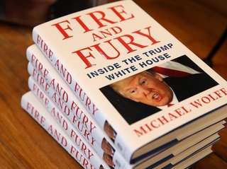 Copies of Michael Wolff's