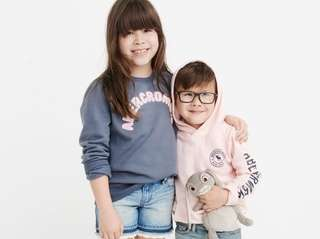 Abercrombie Kids' gender-neutral collection of clothing is geared