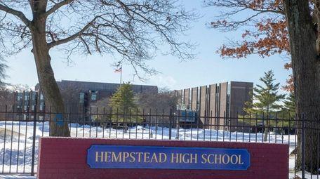 Hempstead High School on Jan. 6, 2018, in