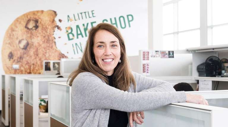Tate's Bake Shop CEO, Maura Mottolese, at the