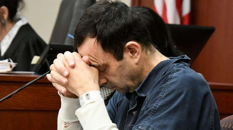 Tears and pain; Day 2 as Nassar victims share impact statements