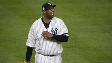 New York Yankees CC Sabathia closes out the