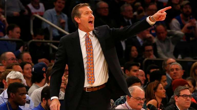 Jeff Hornacek wants the Knicks to play with