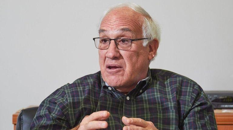 Patchogue Mayor Paul Pontieri talks about plans for
