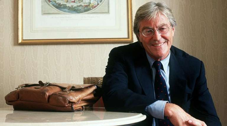 Author Peter Mayle in New York in 1997.