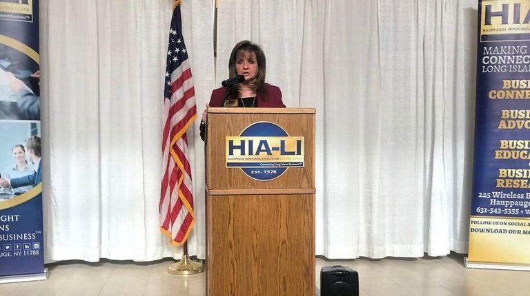 Terri Alessi-Miceli, CEO of the Hauppauge Industrial Association