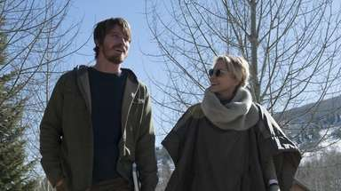 Garrett Hedlund and Sharon Stone in