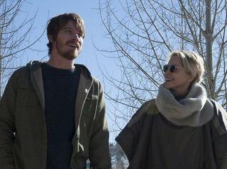 Garrett Hedlund and Sharon Stone in