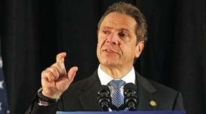 New York Governor Andrew Cuomo urged state lawmakers