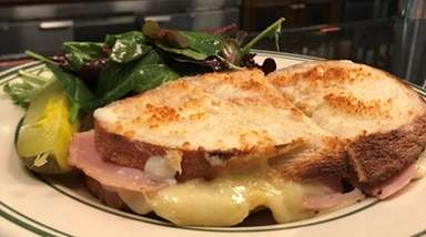 Croque monsieur is one of the bistro standards