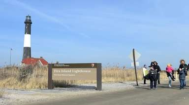 Those who visited the Fire Island Lighthouse on
