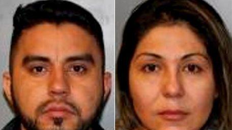 Francisco Roman Parra Perez, 27, and Sandra Cardenas