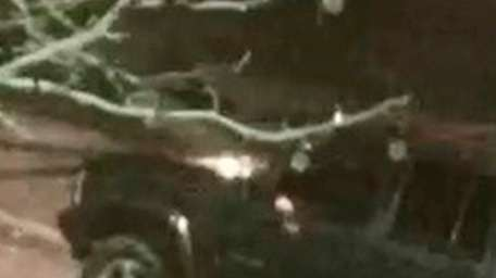 Suffolk police say this vehicle was involved in