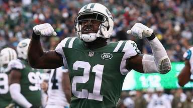 Jets cornerback Morris Claiborne at MetLife Stadium on