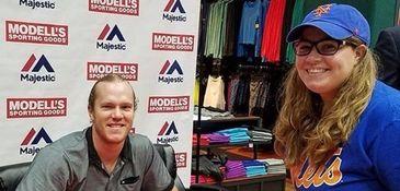 Callie Quinn meets the Mets' Noah Syndergaard at