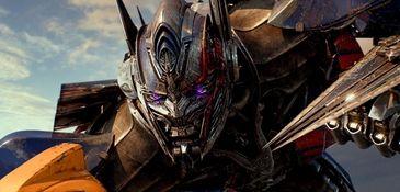 Optimus Prime in the movie