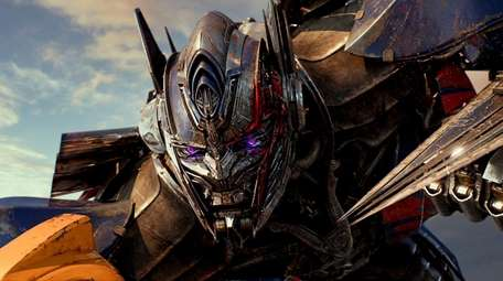 Optimus Prime in the movie