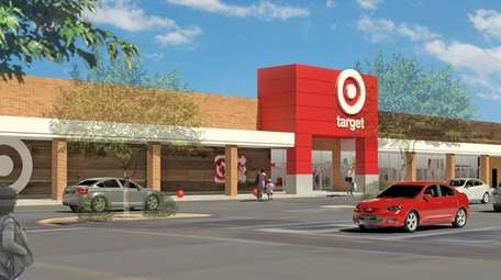 Rendering of a planned small-format Target store set