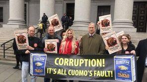 Manhattan GOP Chairwoman Andrea Catsimatidis and New York