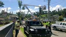 Much of Puerto Rico has been without power