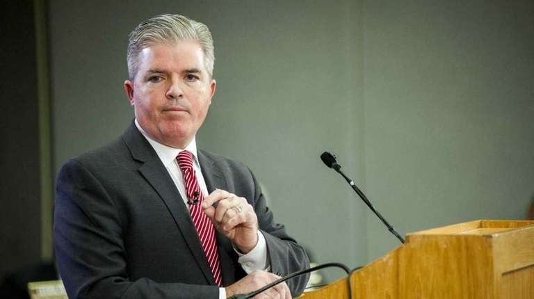 Suffolk County Executive Steve Bellone has vetoed a