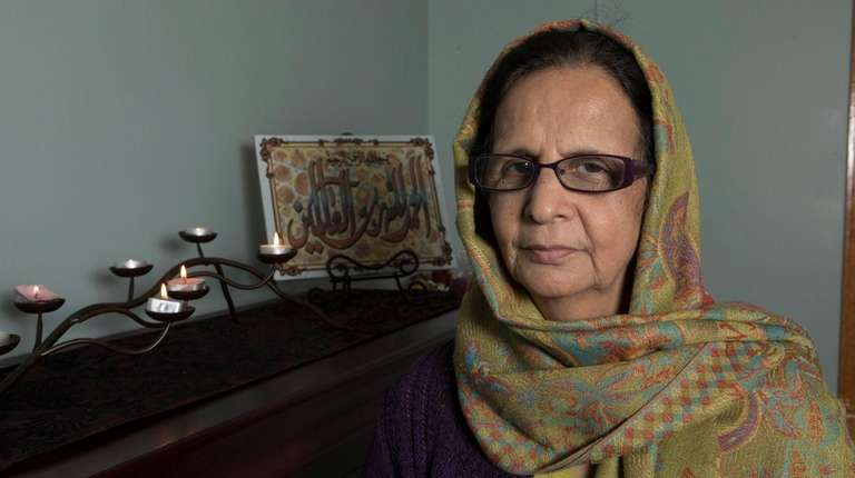 Shahnaz Mallik, of Woodmere, a grandmother who petitioned