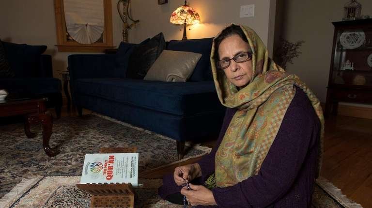 Shahnaz Mallik, of Woodmere, a grandparent who petitioned