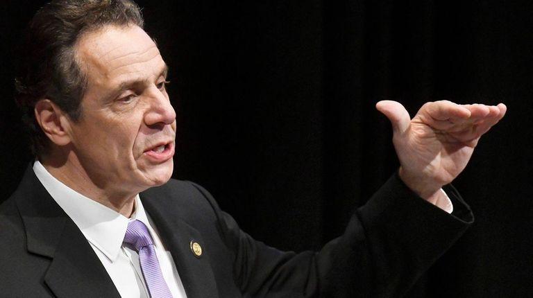 New York State Gov. Andrew M. Cuomo has