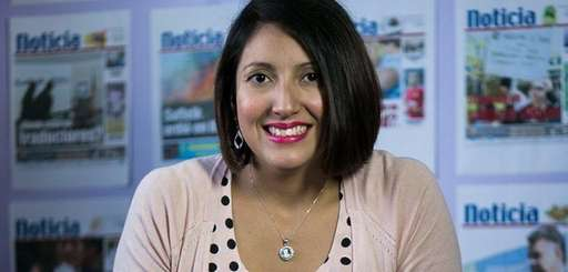Silvana Diaz, owner and publisher of Noticia, seen