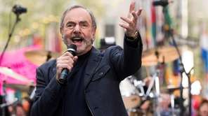 Neil Diamond, pictured on Oct. 14, 2014, performs