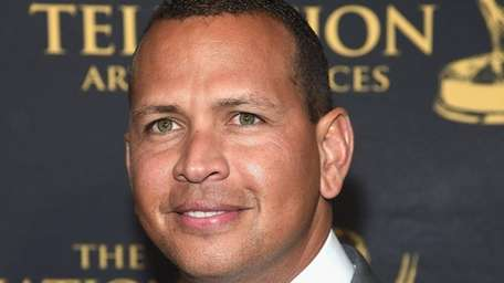 Alex Rodriguez attends the 38th Sports Emmy Awards