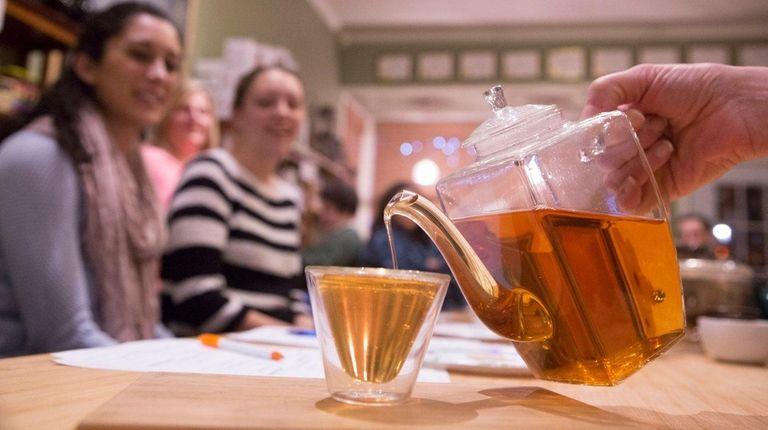 At West Sayville's Infuse Tea Bar each tea