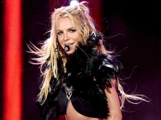 Britney Spears performs at the iHeartRadio Music Festival
