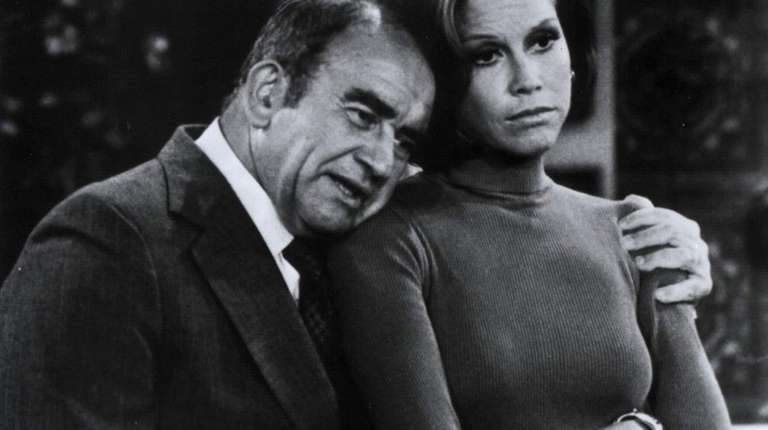 Ed Asner and Mary Tyler Moore worked in