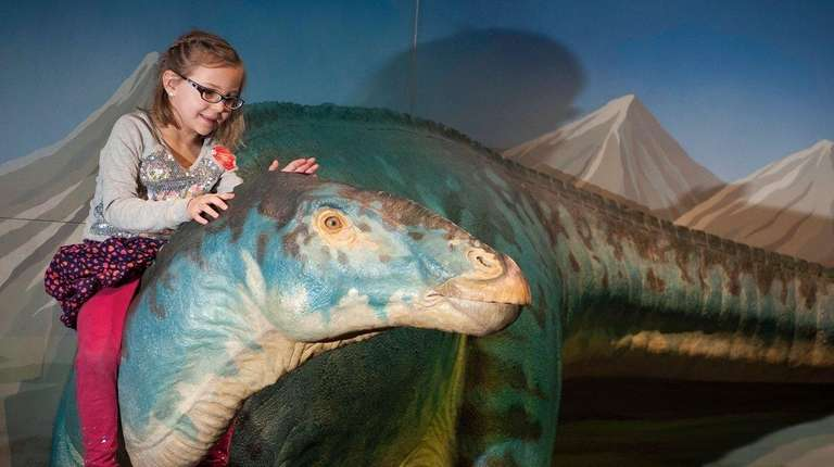 Dinosaurs Land of Fire and Ice at Long Island Childrens Museum