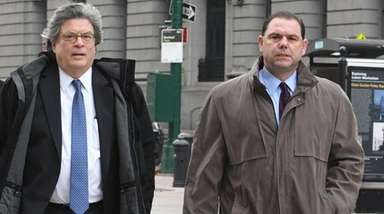Joseph Percoco, right, and his attorney Barry Bohrer