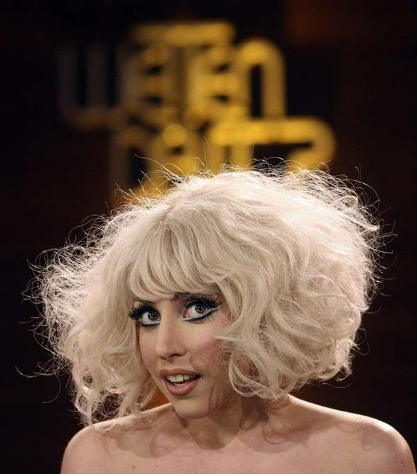 Lady Gaga during the German TV show