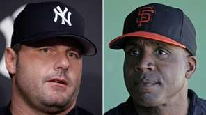 Roger Clemens and Barry Bonds will probably have