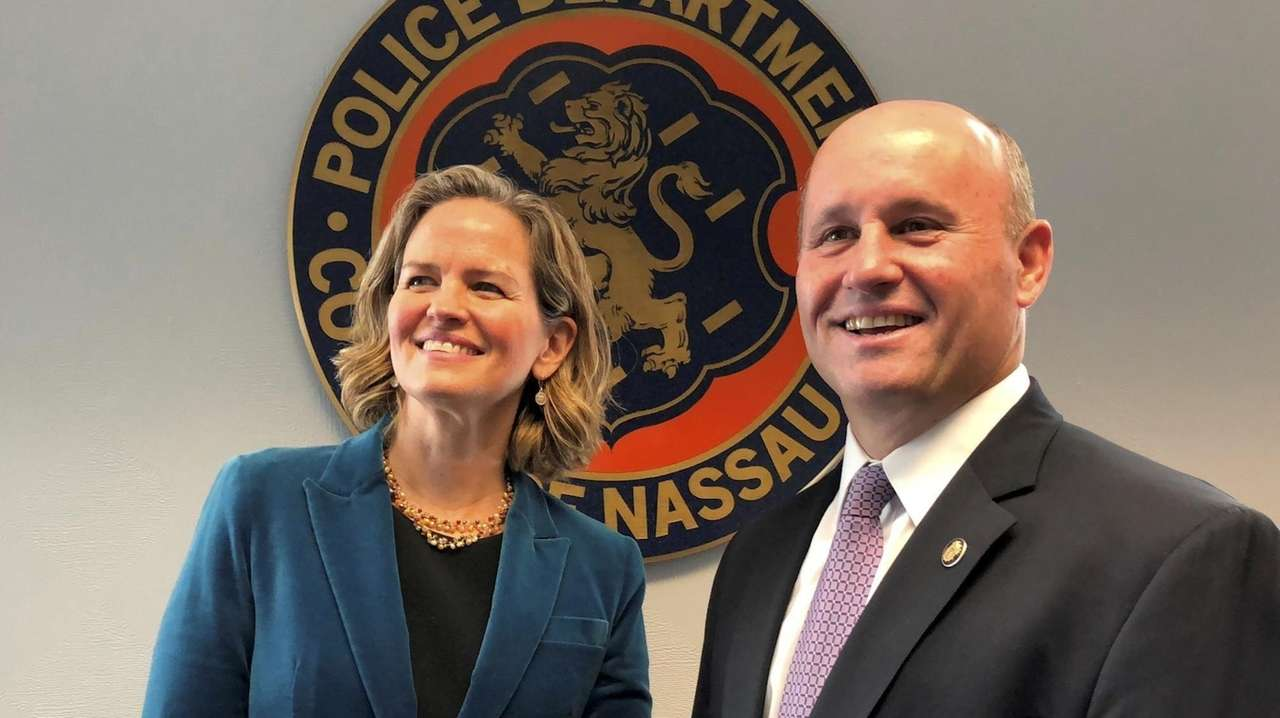 Nassau County Executive Laura Curran on Wednesday, Jan.